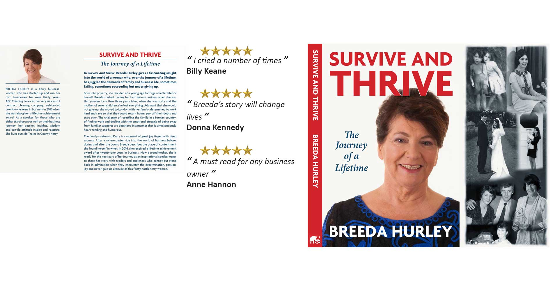 Breeda Hurley, Survive and Thrive